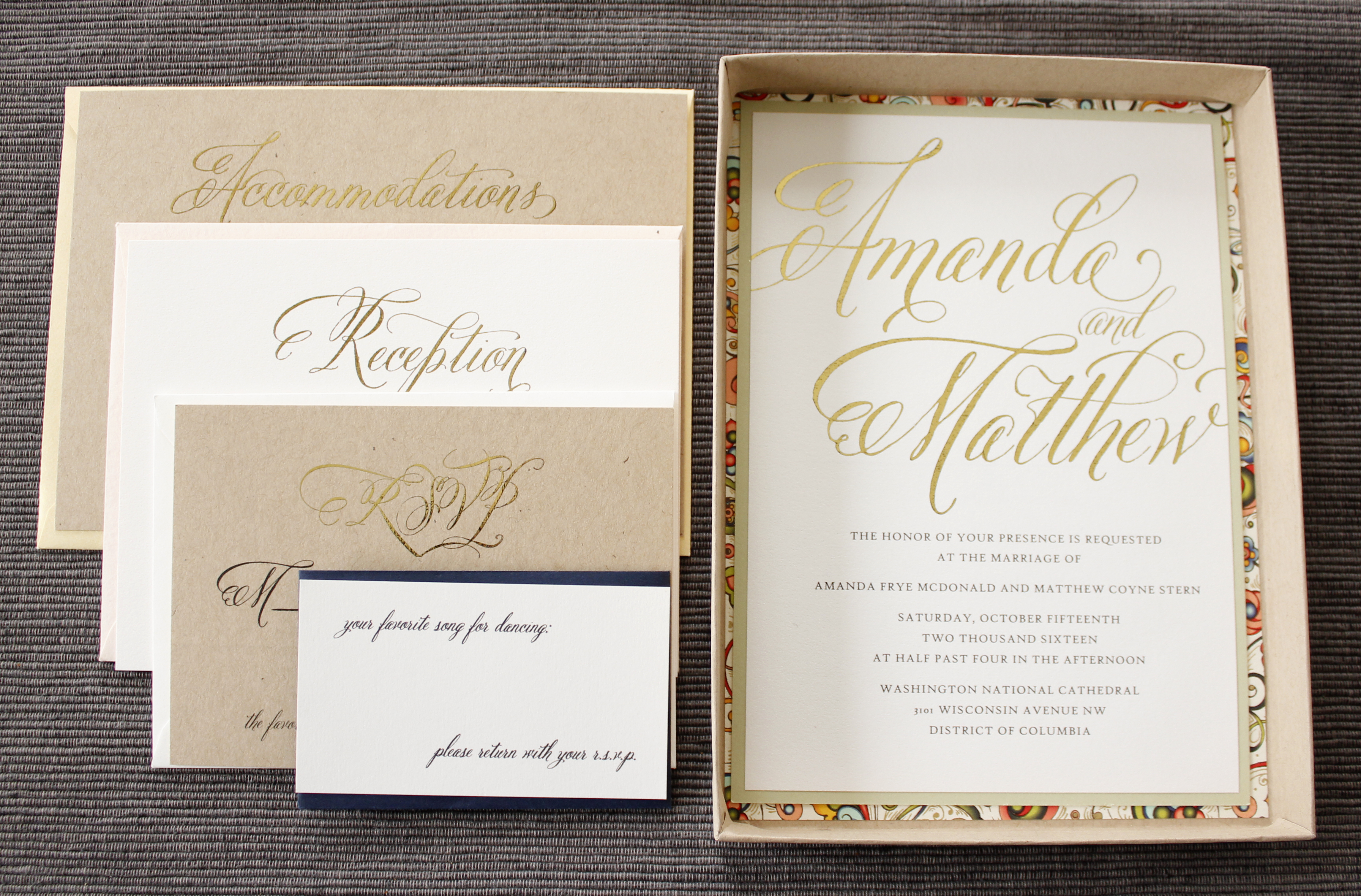 The Ultimate Luxury Wedding Invitation – Think INSIDE the box ...
